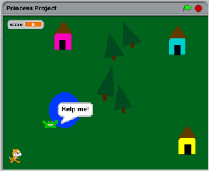 Princess Project adventure game